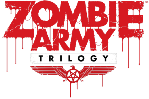 Zombie Army Trilogy logo. We only used the graphic portion