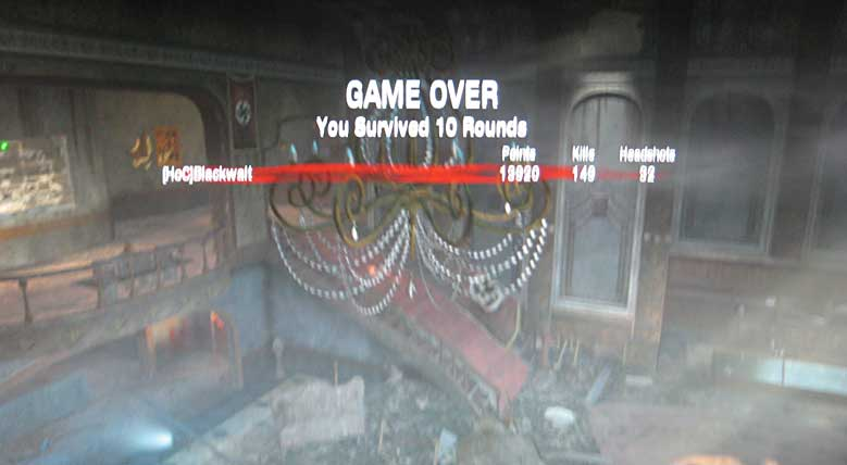 Massacre: Kino der Toten - 10 rounds