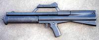 Neostead NS2000 pump action shotgun