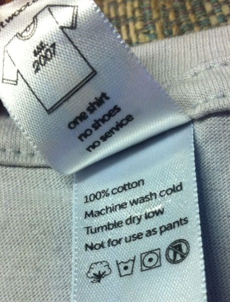 not for use as pants t-shirt